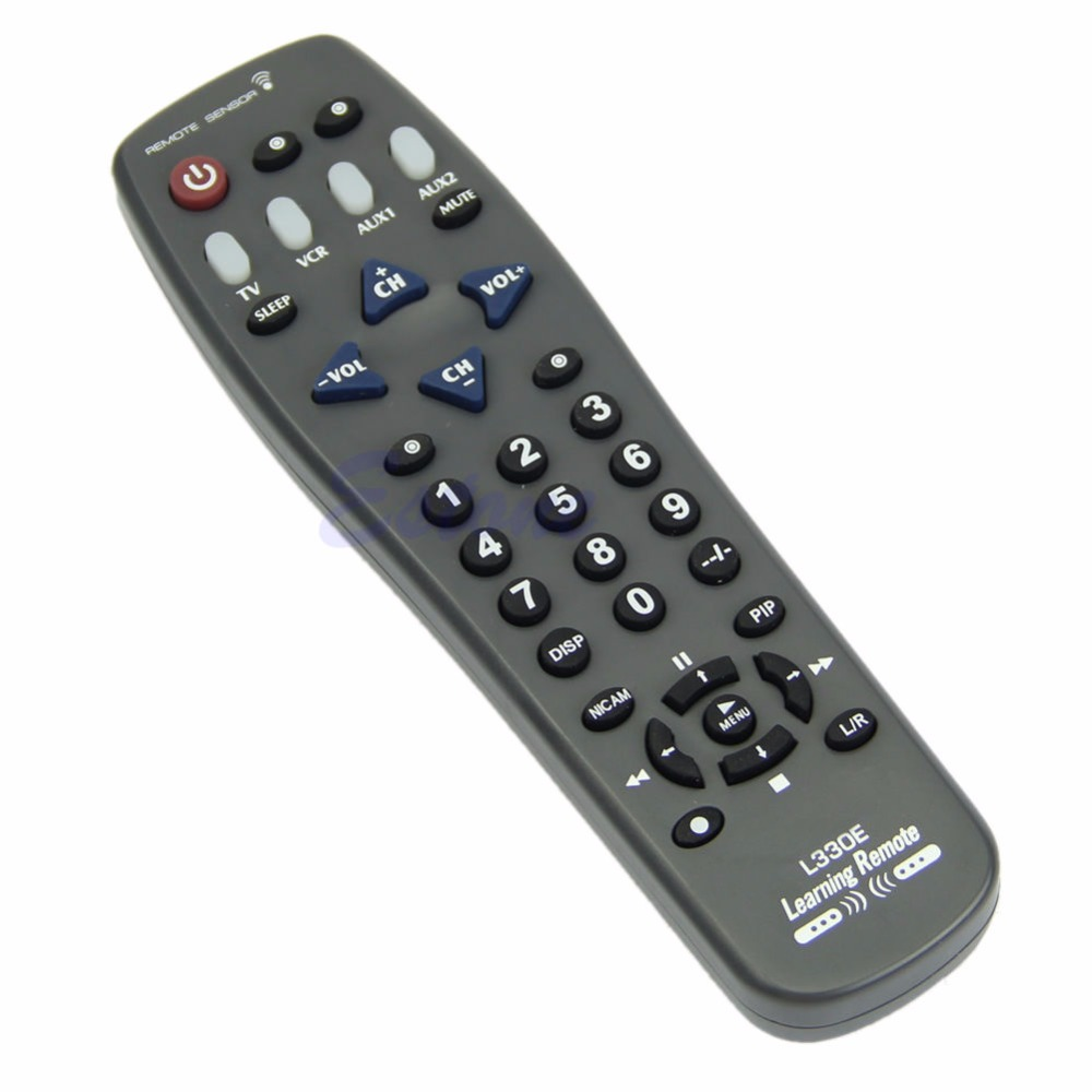 CHUNGHOPFor Universal TV VCD SAT DVD Remote Control Controller With Learning Function For L330E universal tv dvd vcd remote controller 2 aa