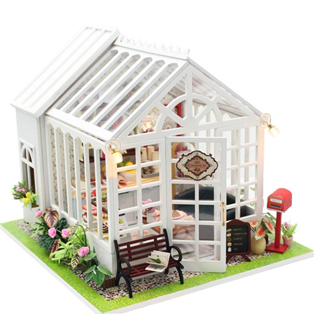 LeadingStar DIY Dollhouse Wooden Doll Houses Miniatures for dolls dollhouse Furniture Kit doll houses Toys for Children Gift earthquake vulnerability assessment for vernacular houses
