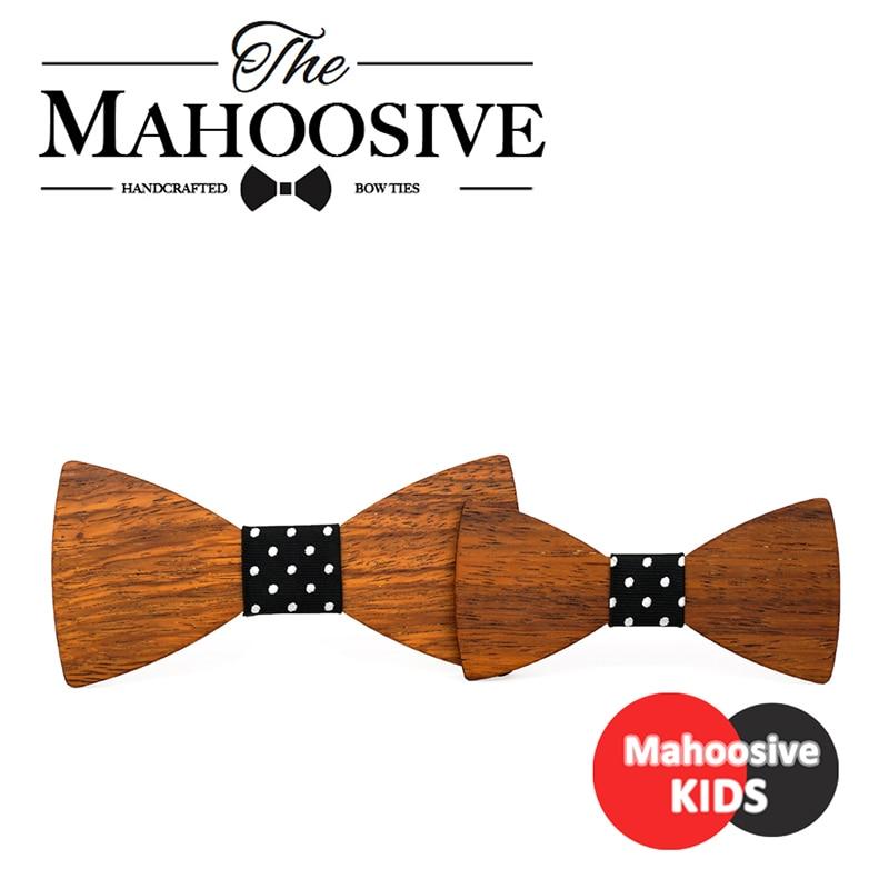 Best Man Groomsmen Groom Wood Suit Bowtie Child Man Wedding British Female Children Kids Wooden Bow Ties Cravat Combo