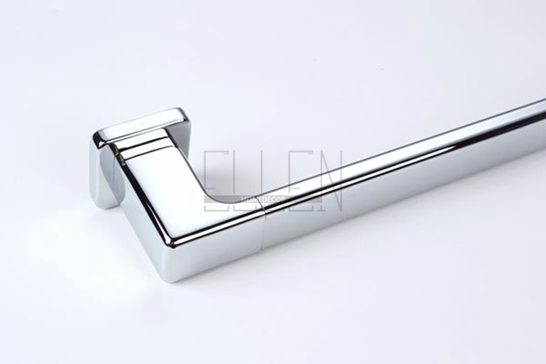aliexpresscom buy square single towel bar 24 chrome bathroom hardware towel holder for bathroom accessories from reliable single towel bar suppliers on