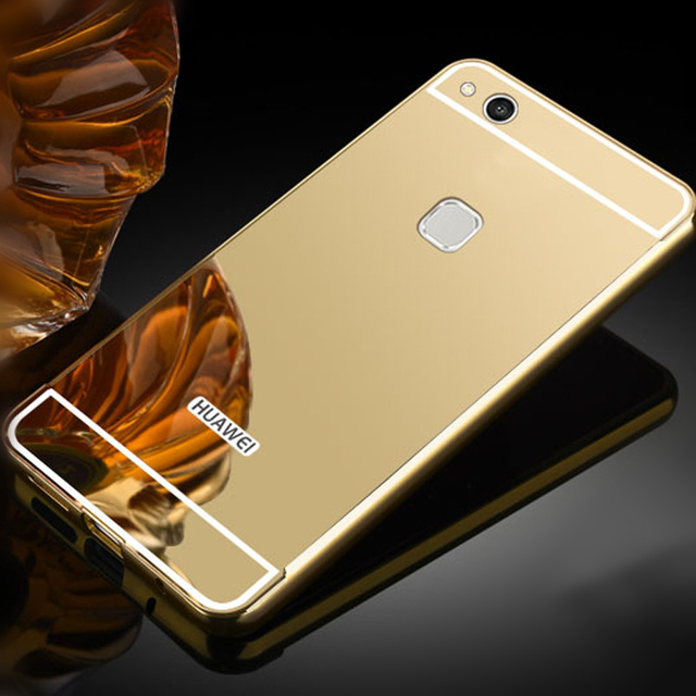 Aliexpress Buy Luxury Mirror Fundas For Huawei P10