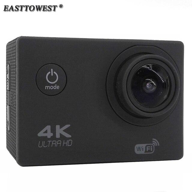 EASTTOWEST Action Camera 4 K 1080 P 16MP 170 Graus Wide Lens Wifi 30 m Mergulho À Prova D' Água