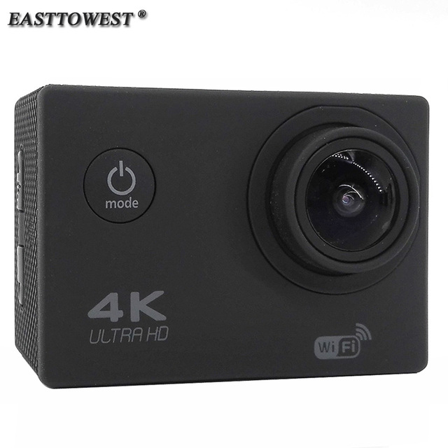 EASTTOWEST Action Camera 4K 1080P 16MP 170 Degree Wide Lens Wifi 30m Waterproof Diving