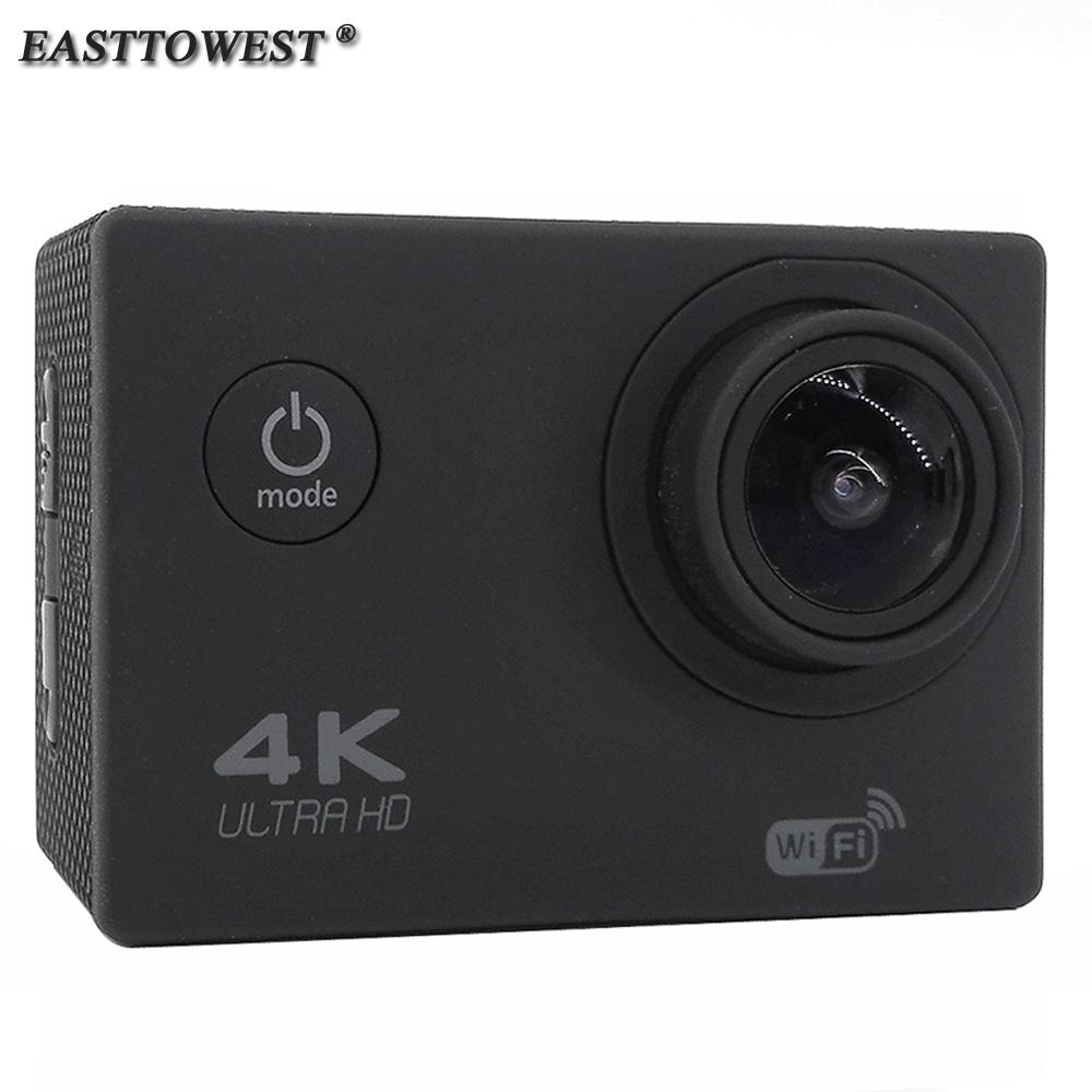 Prix pour EASTTOWEST D'action Caméra 4 K 1080 P 16MP 170 Degrés Grand Objectif Wifi 30 m Étanche Plongée