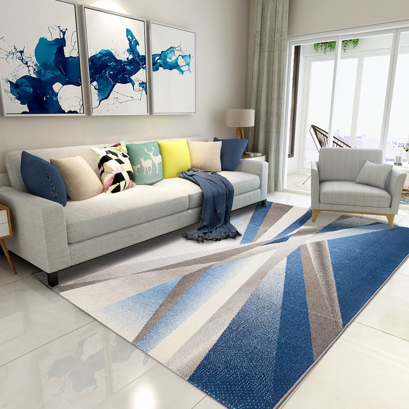 Nordic Carpets For Living Room Home Carpet Bedroom Sofa Coffee Table Rug Study Room Floor Mat Woven Polypropylene Decorative Rug - 2
