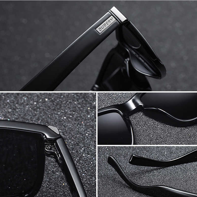 aed26ca059 ... DUBERY marca de diseño polarizado gafas de sol hombres conductor  sombras hombre Vintage gafas de sol ...