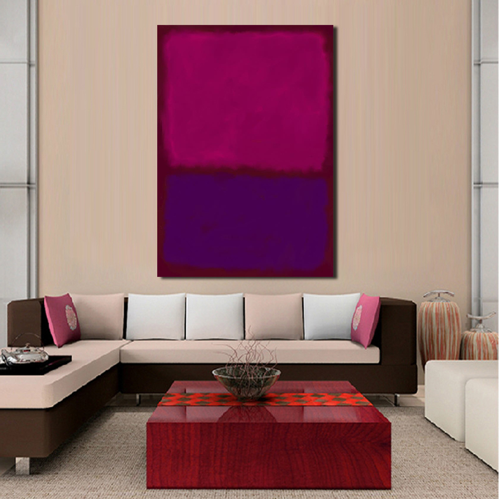 wang art mark rothko classical oil painting wall art picture home decor canvas print living room modern no frame