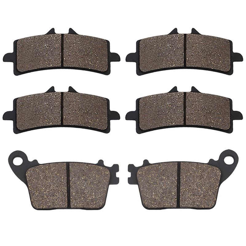 Cyleto Motorcycle Front and Rear Brake Pads for SUZUKI GSX-S 1000 GSX-S1000 GSXS1000 GSXS 1000 2015 2016 image