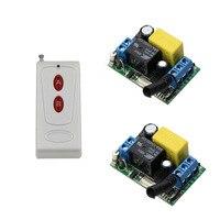 AC 220V Wireless Remote Control Switch Remote Light Switch System Output Radio 220V 1CH 10A Relay