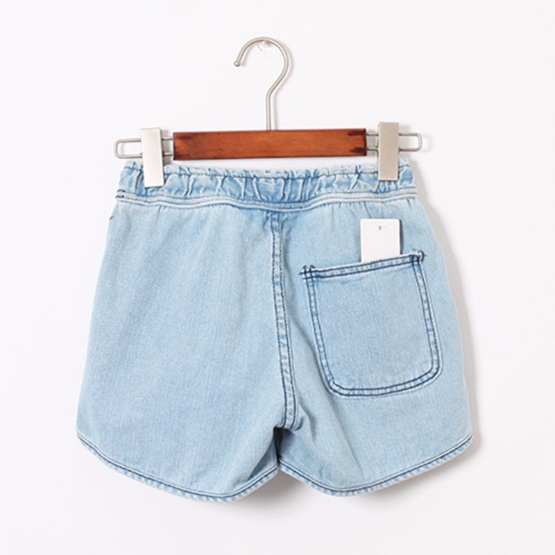 HTB1 S.1JFXXXXcjXpXXq6xXFXXXw - Summer Women Drawstring Denim Shorts PTC 197