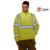 Personalizar oi vis jaqueta outerdoor jaqueta térmica casaco de lã amarelo dos homens jaqueta de trabalho frete grátis