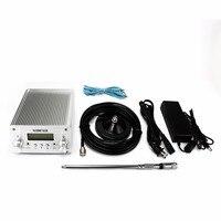 Darmowa wysyłka radio FM nadajniki transmisji NIO T6A FM PLL nadajnik garnitur dla różnych scenariuszy 76 MHz do 108 MHz w Sprzęt do transmisji radiowych i telewizyjnych od Elektronika użytkowa na