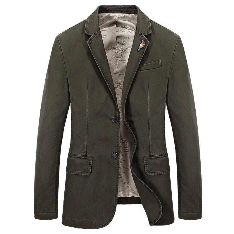 Designer Hommes de Casual Blazer Marque De Mode Mâle Slim Fit Veste Manteau Hommes Blazer Terno Masculino Vetement Homme 4XL AF66001A