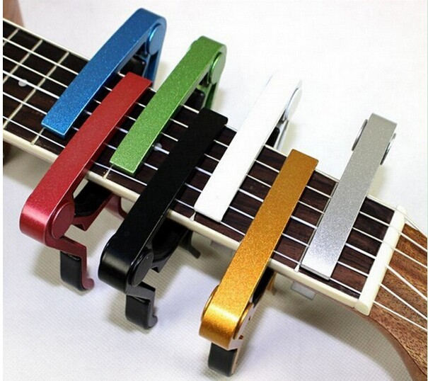 MSOR Hot High quality Capo Metal Acoustic Electric Guitar Bass Ukulele Trigger alloy Capo Tune Key Clamp Black soach 2017 new ukulele ukulele guitar acoustic tune quick change trigger guitar capo key clamp colors metal capo