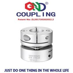 GS shaft coupling aluminum alloy clutch 3 6mm single diaphragm clamp series coupler