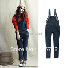 77647d67260 Free Shipping 2016 Women Plus Size XL Maternity Wear Jeans Overalls Loose Denim  Jumpsuit Rompers Pregnancy Clothes With Pocket