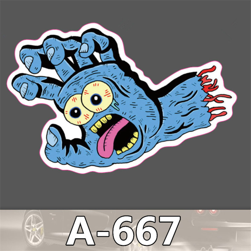 667 Hot Fashion Mixed stickers for kids Home decor on laptop sticker decal fridge skateboard cut doodle sticker toy stickers