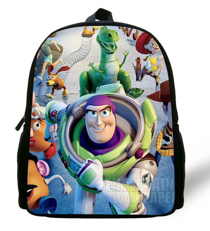 12 inch Childlike Toy Story School Bag Cute Buzz Lightyear