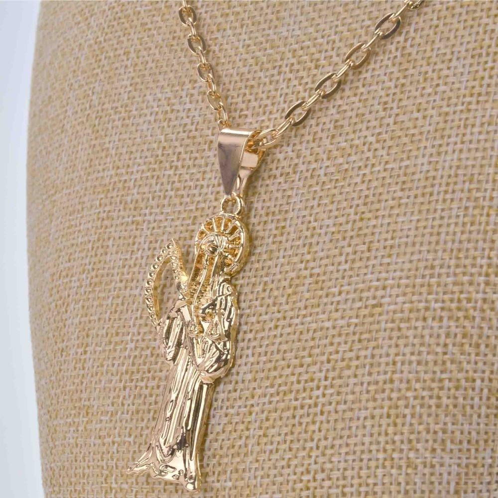 Shamty licht geel goud kleur Trendy Magere Hein ketting Top kwaliteit - Mode-sieraden - Foto 6