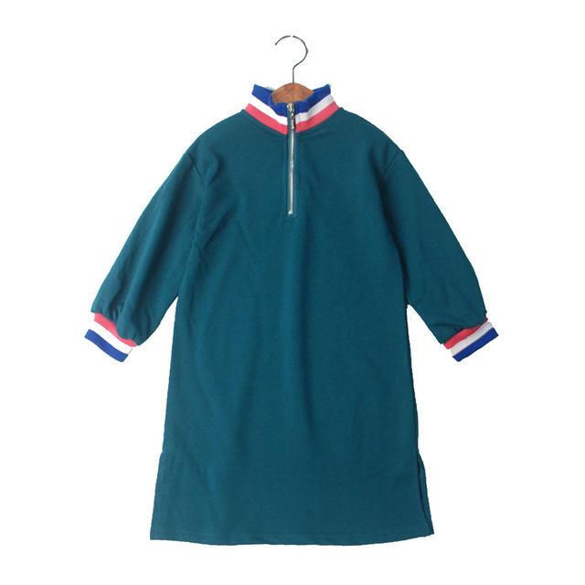 Fall Teen Dresses Long Sleeve Fashion Dress for 10 to 12 years 14 15 Big Girls Clothing