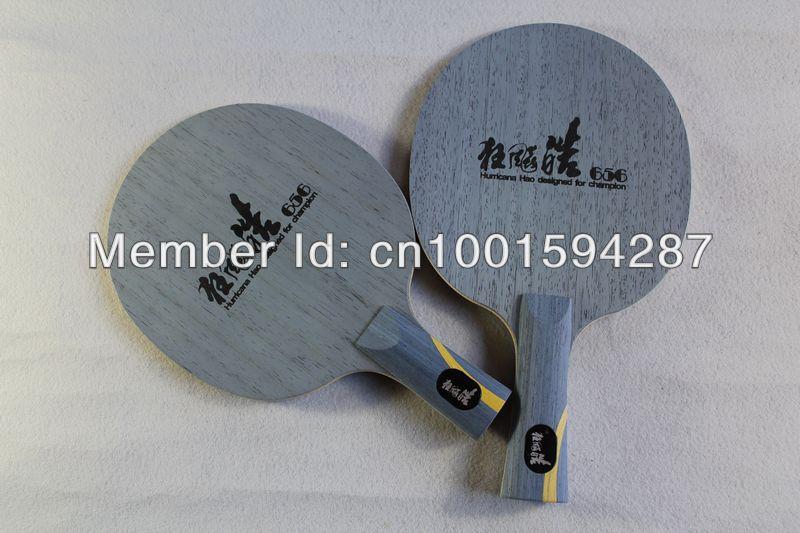 ФОТО Hurricane Hao (Shake hand-Long handle) Table Tennis Blade,Wang Hao's Weapon table tennis racket ping pong blade FL