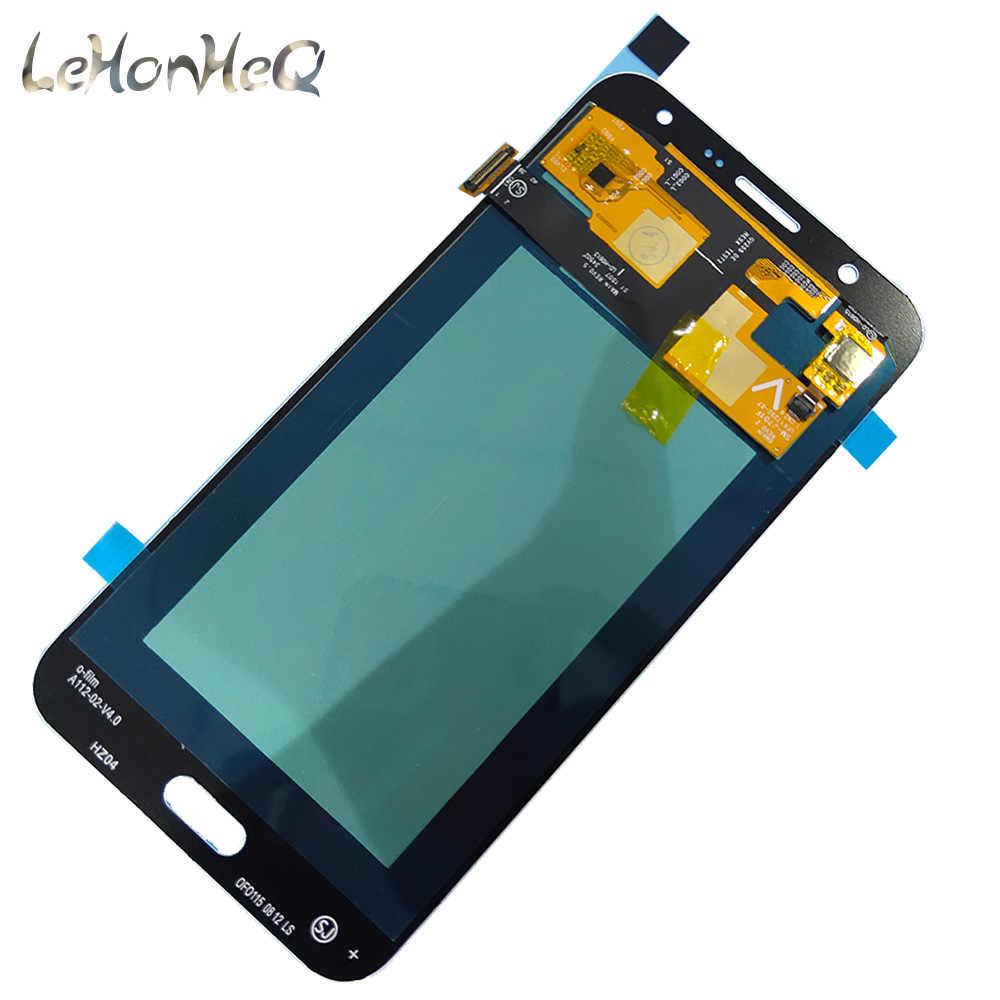 ل samsung J7 Neo J701 amoled شاشات lcd لسامسونج غالاكسي J7 Nxt J701 J701F عرض مجموعة المحولات الرقمية لشاشة تعمل بلمس