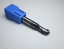 1 Pc HRC45 Carbide Meskopfrezen Cnc Machine Ballnose Frees Diameter 1 Mm 4 Mm 6 Mm 10 Mm 16 Mm 20 Mm 45HRC Freeshipping