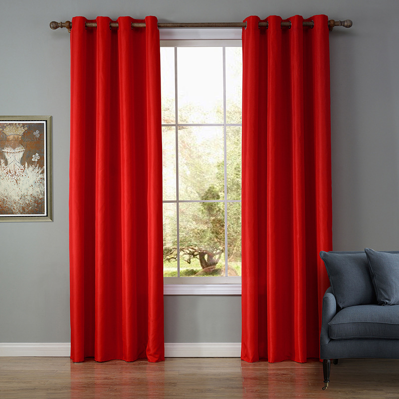 living room panel curtains 8 color thermal insulated blackout panel curtains for 15500