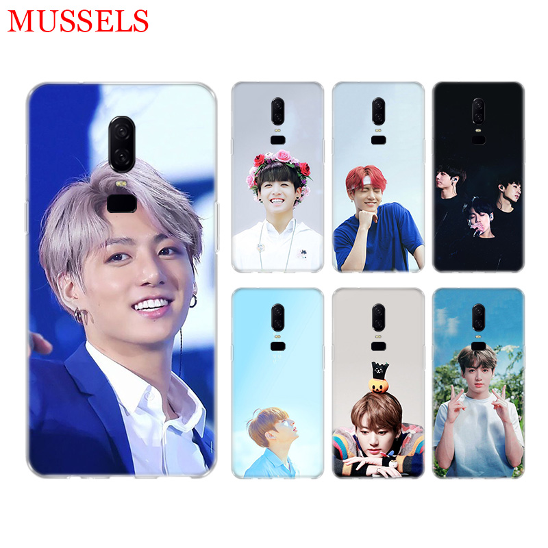 Jungkook Kpop Unique Phone Back Case for font b OnePlus b font font b 7 b