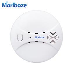 Marlboze беспроводной 433 мГц Smog детектор фотоэлектрический Дым пожарный датчик для беспроводной домашней безопасности Wi-Fi GSM сигнализация