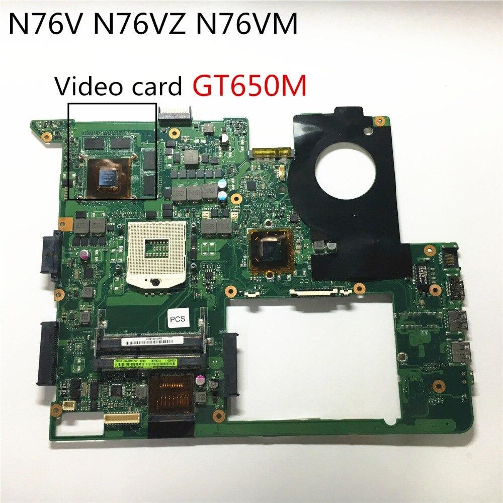 carte graphique pc portable asus Pour Asus N76V N76VZ N76NM carte mère d'ordinateur portable avec