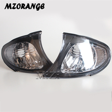 MZORANGE Rearview Mirror Lights Turn Signal LED For BMW E46 3-SERIES 325i 325xi 330i 330xi 4DR 2002-2005 Side Lamp Light LH&RH 1 pc lh side mirror signal light driver side turn lamp for ford f150 high configuration