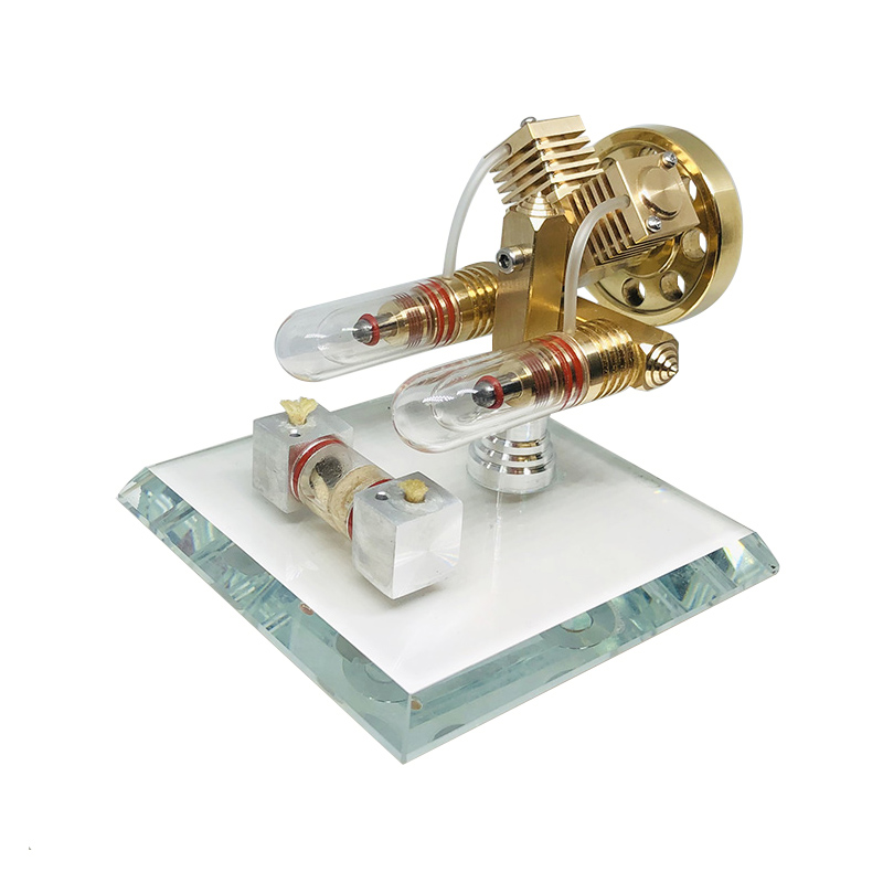 Stirling Engine Model External Combustion Engine Micro-generator Birthday Gift Engine Steam Engine MiniStirling Engine Model External Combustion Engine Micro-generator Birthday Gift Engine Steam Engine Mini