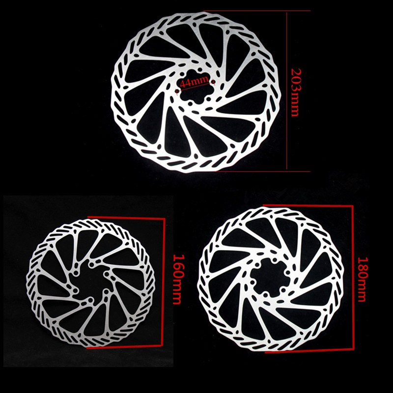 1 Piece 6 Bolts XMF 160mm 180mm 203mm MTB Road Bike Brake Disc Rotors Hydraulic Mechnical Mountain Bicycle Disc Brake Rotor