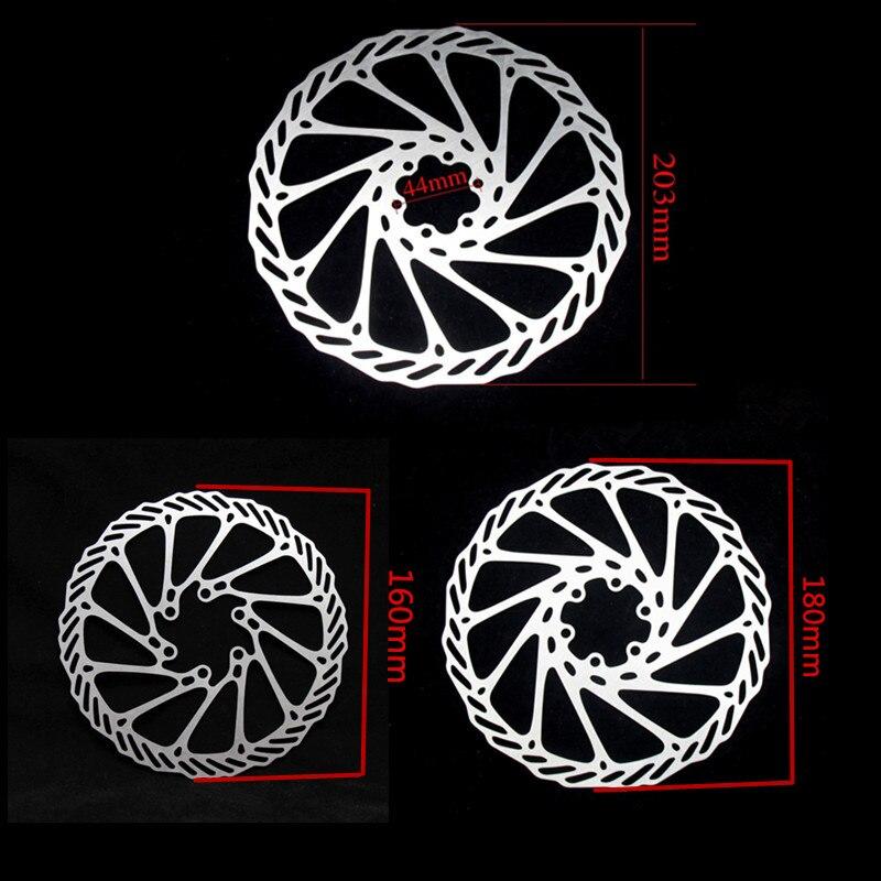 1 pièce 6 Boulons XMF 160mm 180mm 203mm VTT Route Vélo Disque De Frein Rotors Hydraulique Mechnical Montagne vélo Disque De Frein Rotor