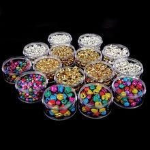 6mm 8mm 10mm 12mm 14mm mieszane/złoty/rod dzwonek małe koraliki Fit festiwal biżuteria wisiorki paciorki