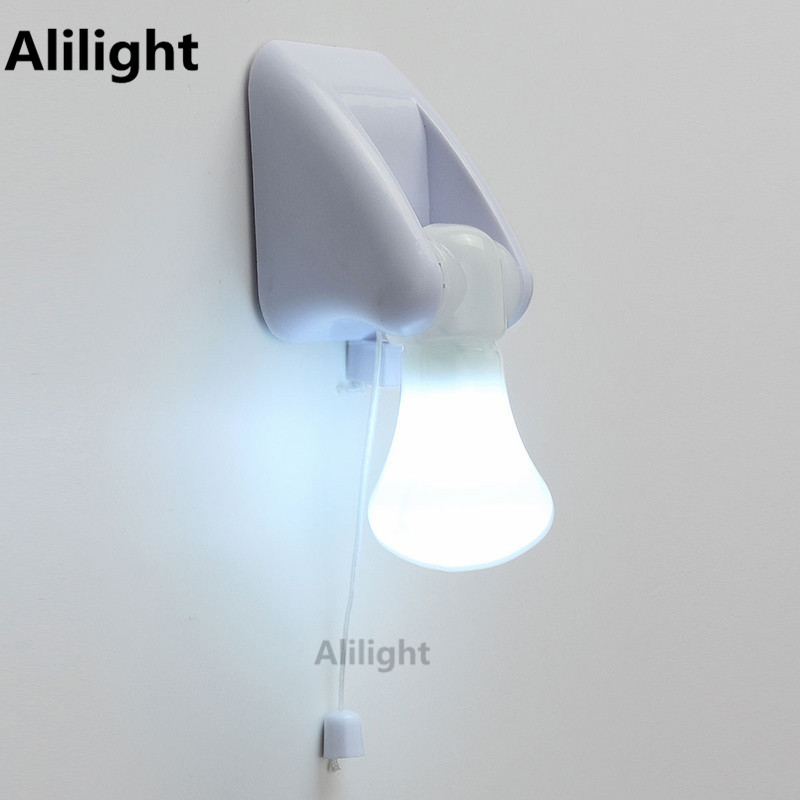 battery powered indoor lighting. Wire LED Bulb Portable Cabinet Night Lamp Light Battery Power Self Adhesive Wall Mount Powered Indoor Lighting O