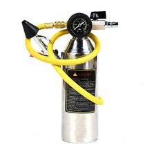 Автомобильный Кондиционер для очистки труб бутылка A/C промывочные наборы канистра для чистого пистолета инструмент