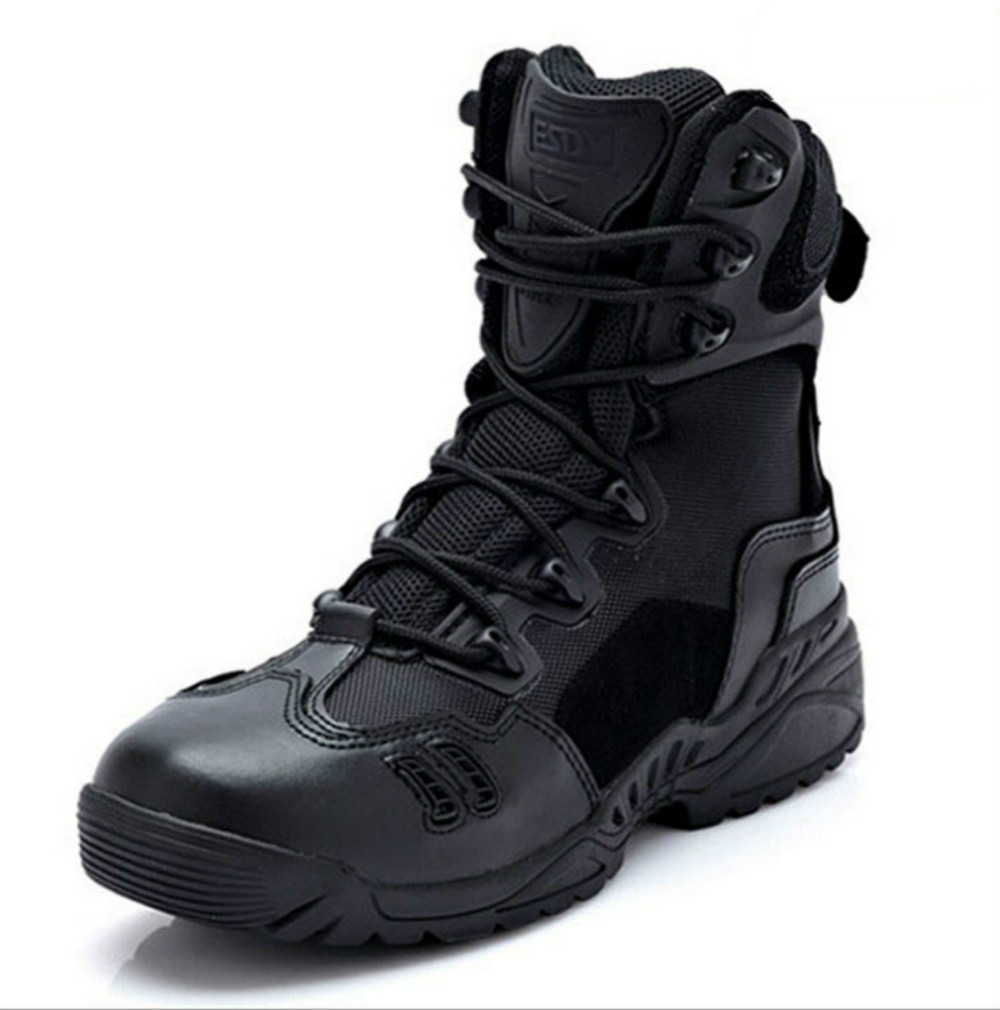 Tactical male outdoors desert combat army boots hiking shoes wear climbing boots spring summer outdoor boots male combat boots desert boots tactical thigh high boots hiking climbing shoes