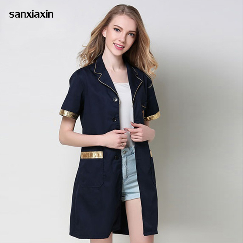 Pharmacy Clothing Uniform Medical Robe Lab Coat Hospital Male And Female Work Uniform Cosmetic Surgery Sale Beauty Salon Uniform