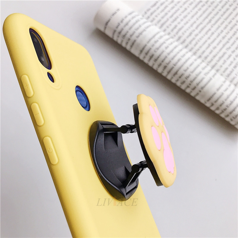3D Cartoon Silicone Phone Standing Case for Xiaomi And Redmi Phones 11
