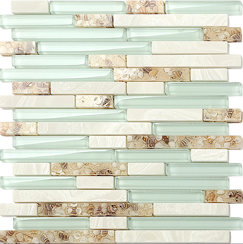 Hot!Baby blue Crystal Glass Shell Marble strip Mosaic wall tile sticker,Kitchen backsplash Bathroom home art decor tiles,LSBK50 rose gold stainless steel metal mosaic glass tile kitchen backsplash bathroom background decorative art mosaic wall tile sa073 9