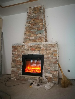 Free shipping to Russia  Q-02  infrared electric fireplace hearth