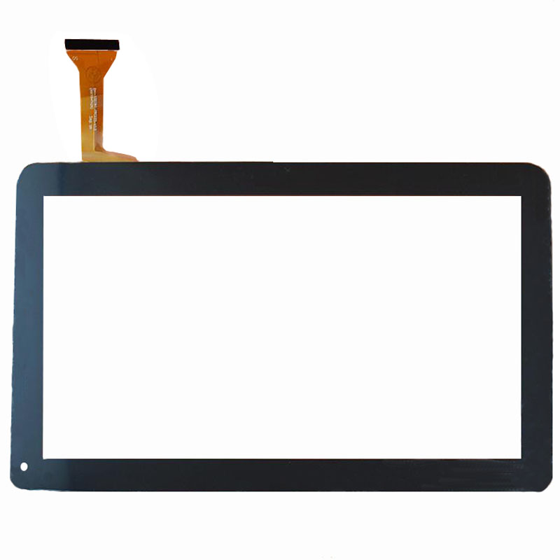 RLGVQDX  New 10.1 Touch Screen DH-1007a1-fpc033-v3.0 Black/White Digitizer Panel