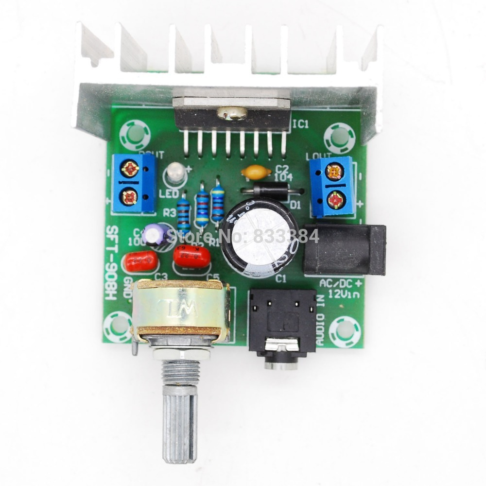 Ac Dc12v Tda7297 Rev A Low Noise Audio Amplifier Board 215w Dual 15 W Class B Channel Digital Stereo Free Shipping In Electricity Generation From Home Improvement On
