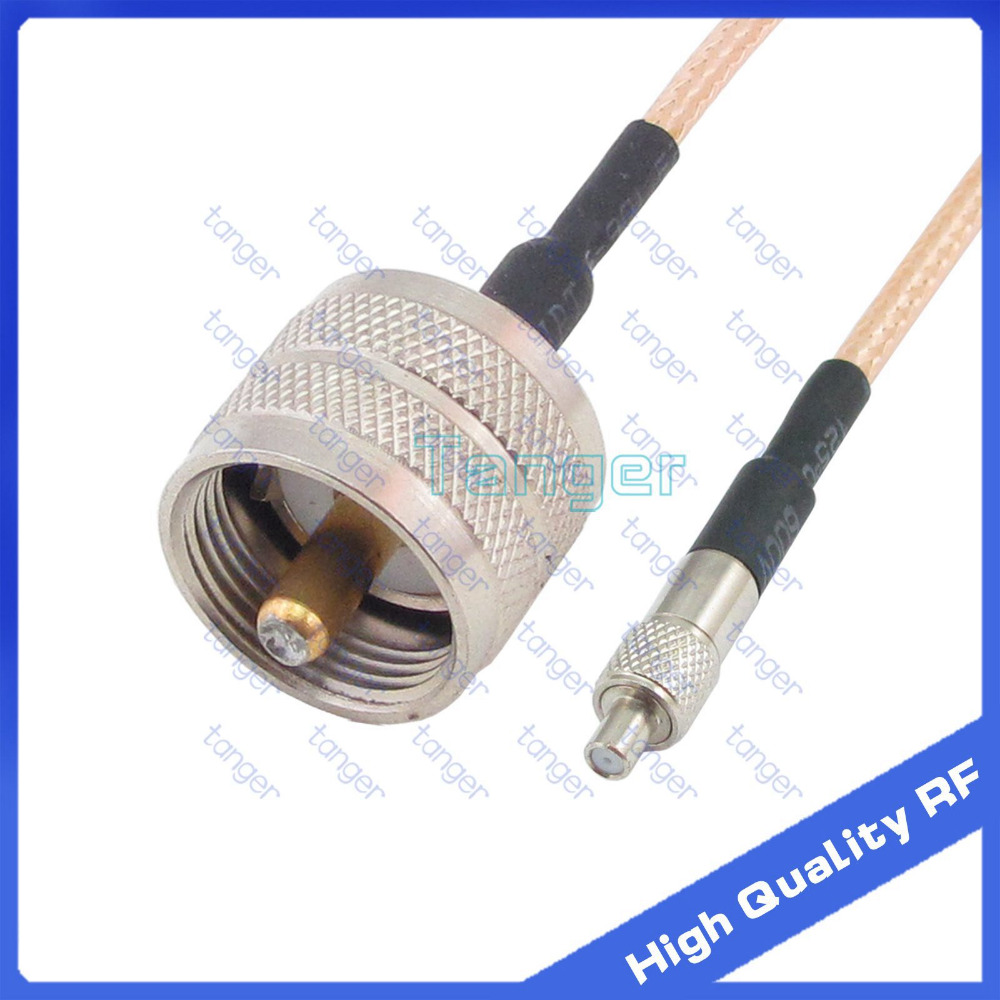TS9 female jack to UHF male plug PL259 PL-259 connector with 20cm 8inch RF RG316 RF Coaxial Pigtail High Quality Low Loss cable high qualitypremium uhf type male pl259 plug to n female jack rf coaxial adapter connector