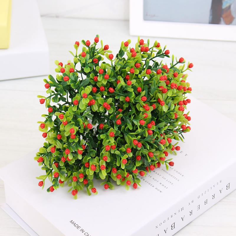 Home decoration milan artificial flowers vivid fake leaf for Artificial flowers for home decoration online