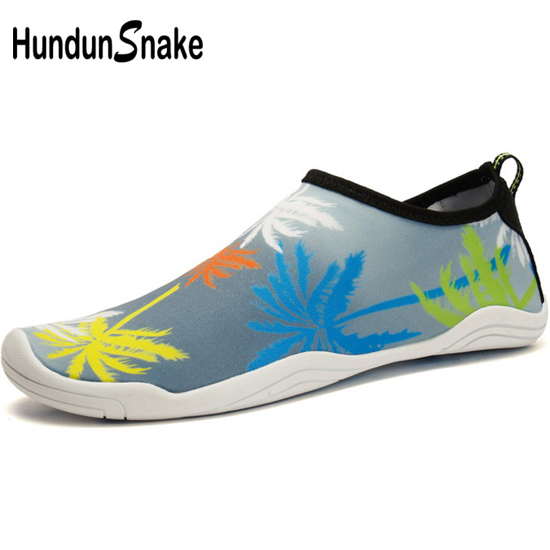 Hundunsnake Barefoot Shoes Women Water Shoes For Beach Men Aqua Shoes Kids Children Swimming Pool Sea Wading Gym Slipony T511