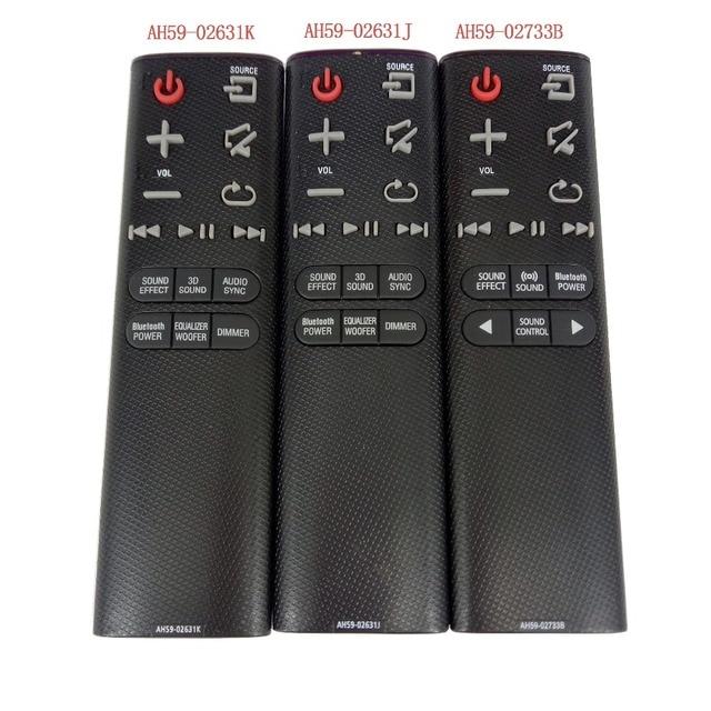 AH59 02733B جديد AH59 02631K AH59 02631J التحكم عن بعد لمنصة الصوت سامسونج HW J4000 HW K360 HW H450 HW HM45 HW H430