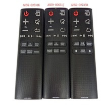 NEW AH59 02733B AH59 02631K AH59 02631J for Samsung Soundbar Remote Control for HW J4000 HW K360 HW H450 HW HM45 HW H430 HW H450